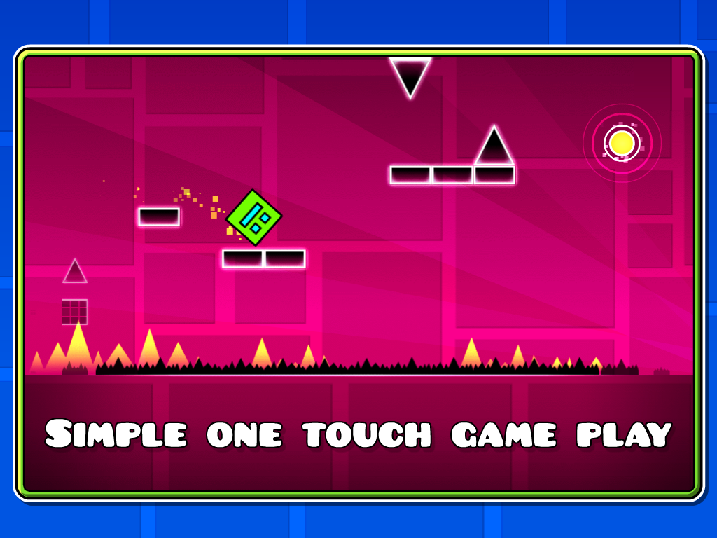 Android Geometry Dash